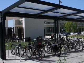 Réalisation d'un garage à vélos