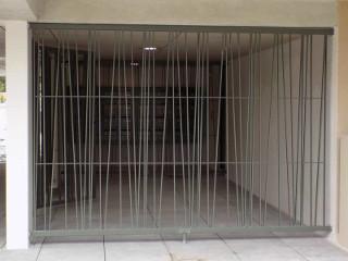 Grille de sécurité pour immeuble à Toulouse